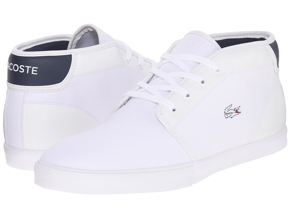 Lacoste - Ampthill 216 1 (White/Navy) Men