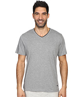 Tommy Bahama - Heather Cotton Modal Jersey Short Sleeve V-Neck Tee