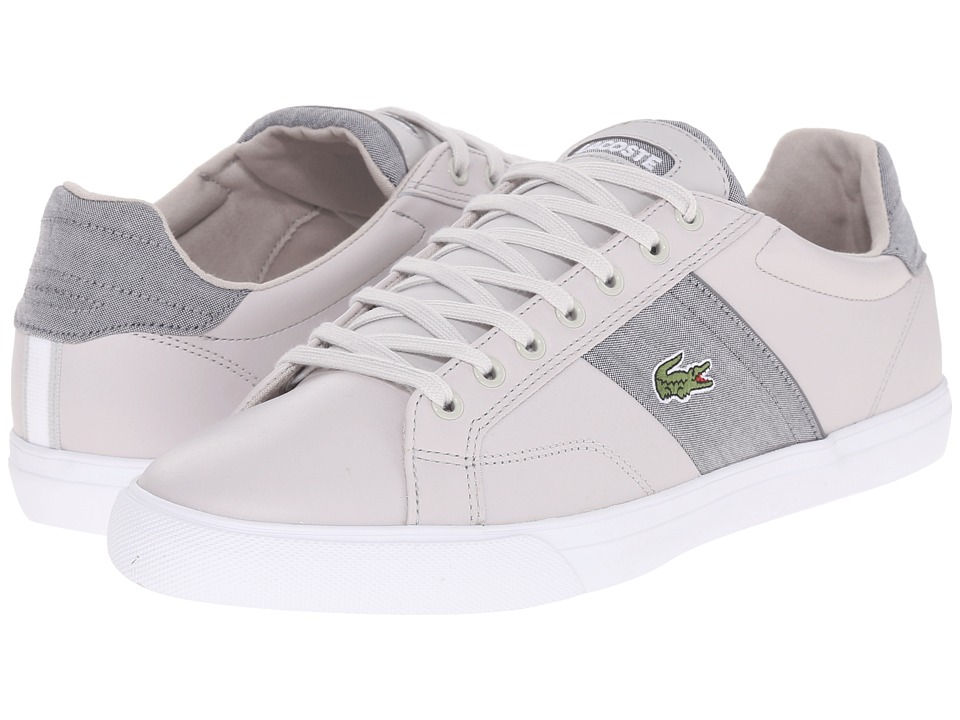 Lacoste - Fairlead 216 1 (Light Grey) Men
