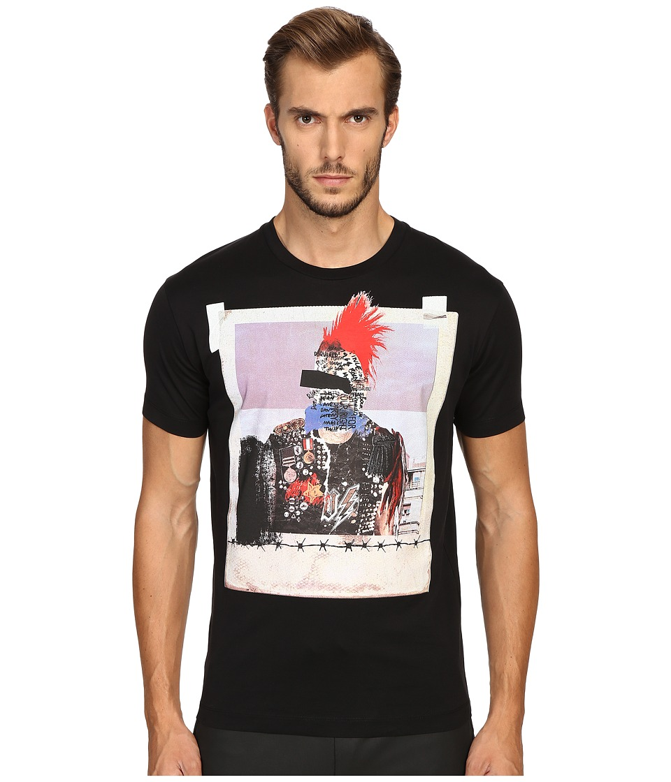DSQUARED2 - Chic Dan Fit Jersey T-Shirt (Black) Men