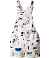 Kenzo Kids - All Over Short Overall (Little Kids/Big Kids)