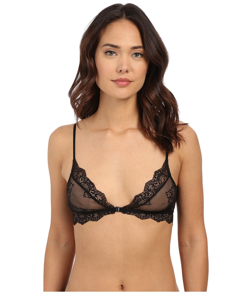 Only Hearts - So Fine Lace Bralette (Black) Womens Bra