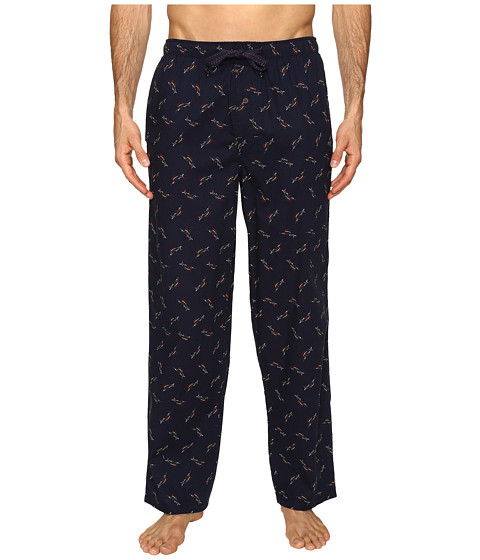 Tommy Bahama Island Washed Cotton Woven Pants - Tossed Multi Marlin Navy