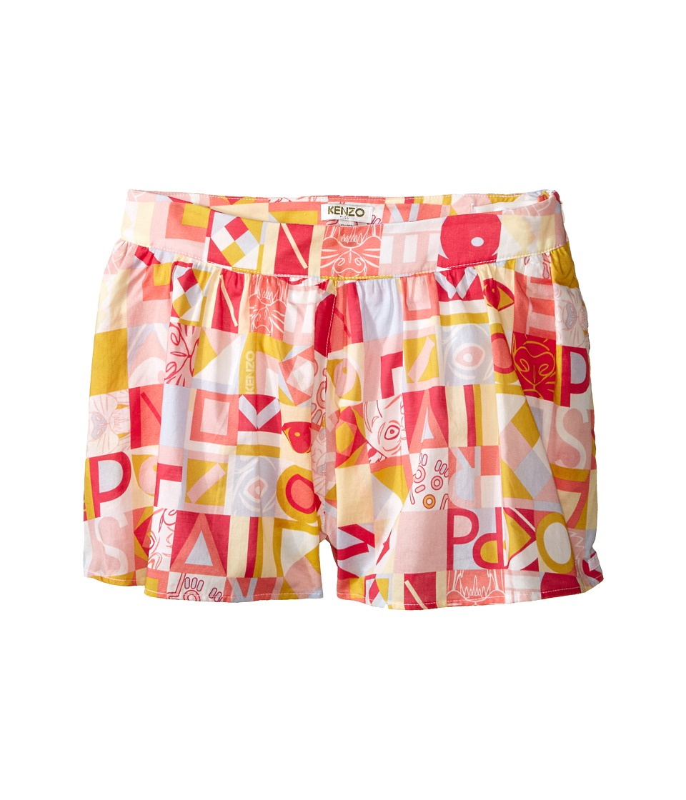 Kenzo Kids Cubism Skort Little Kids/Big Kids Light Pink Girls Skort