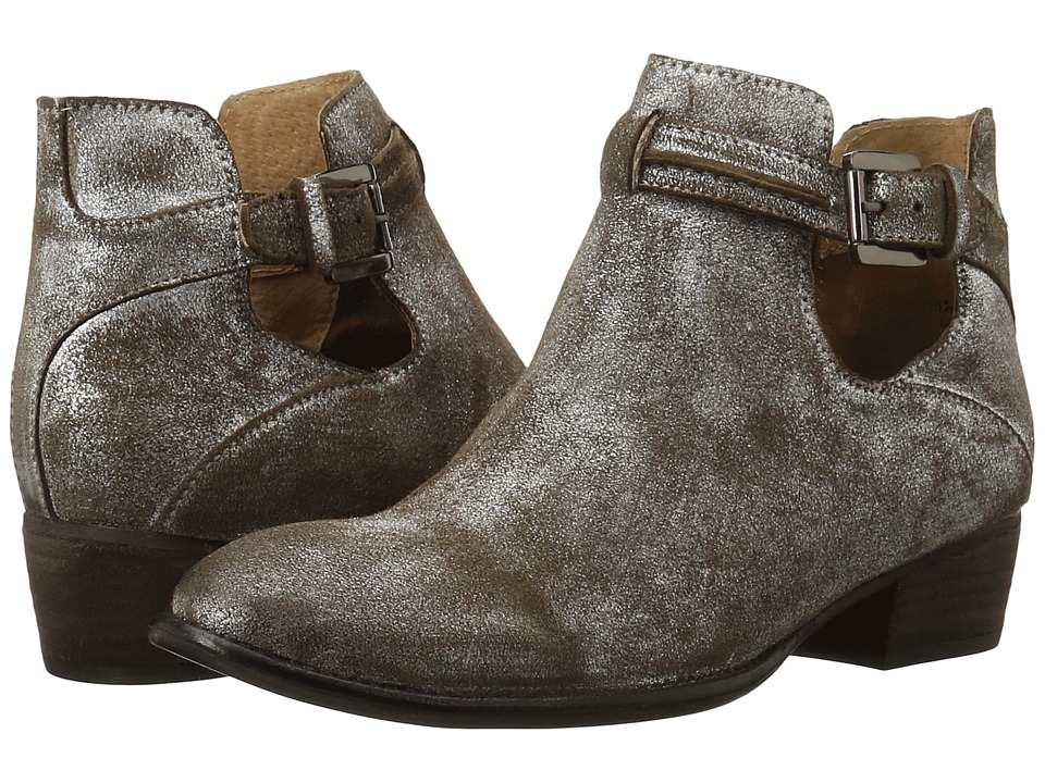Seychelles - Tourmaline (Pewter Metallic Suede) Women