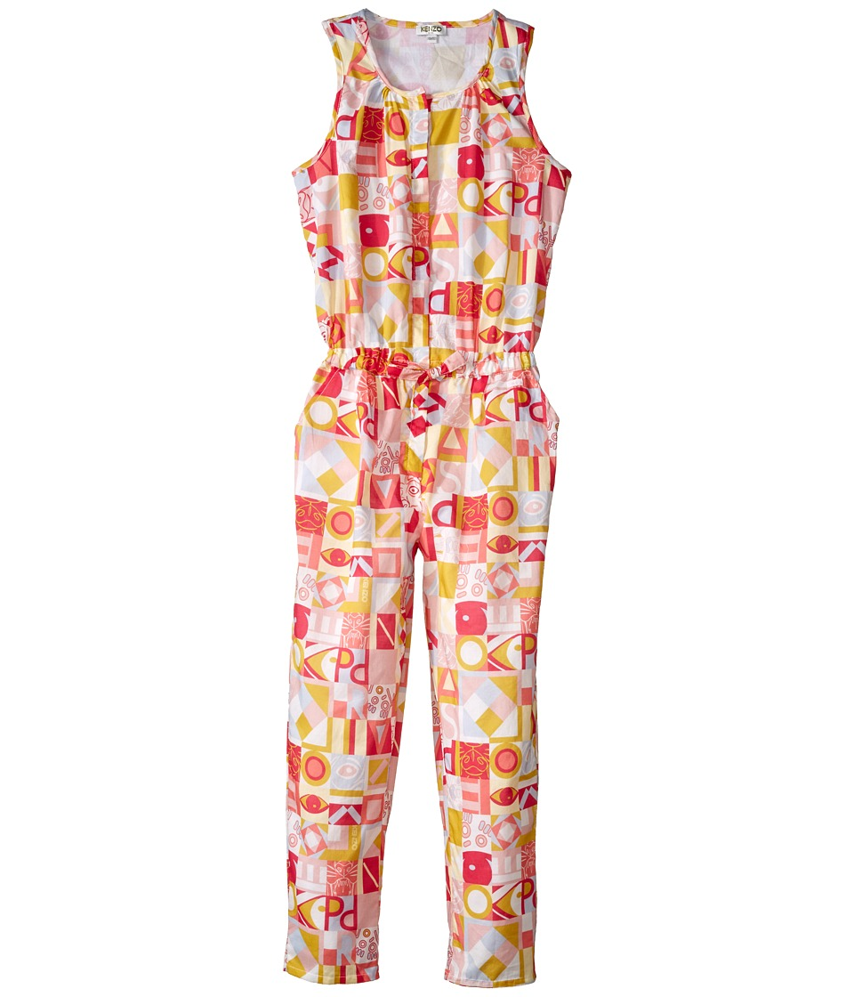 Kenzo Kids Kenzo Romper Little Kids/Big Kids Light Pink Girls Jumpsuit Rompers One Piece