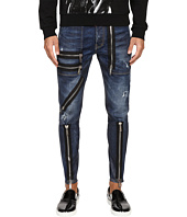 DSQUARED2 - Five-Pocket Military Jeans in Blue