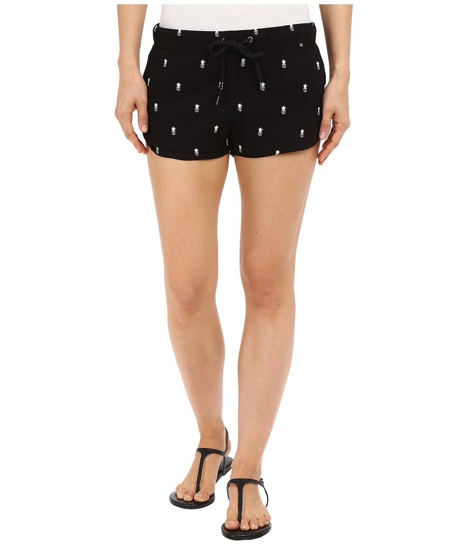 Vans Janek Shorts Black Pineapple Womens Shorts