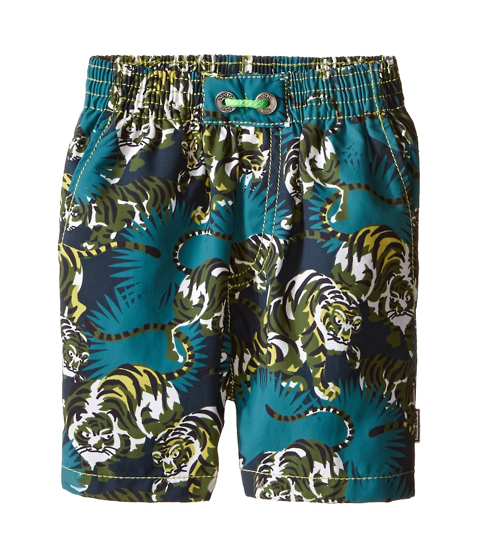 Kenzo Kids Jungle Bathing Trunk Toddler Emerald Boys Swimwear