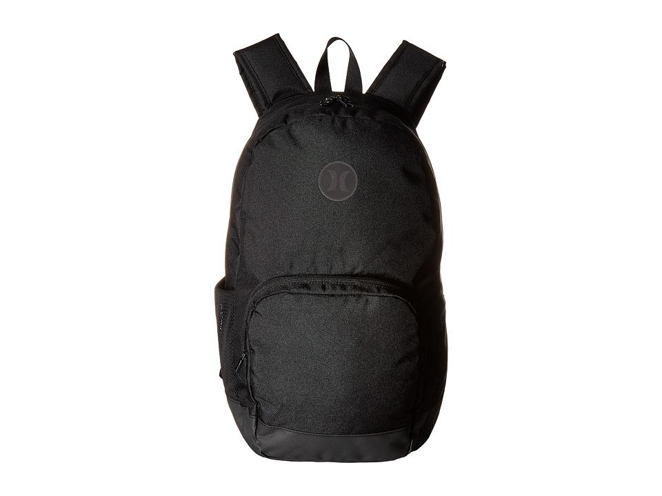Hurley - Blockade Backpack (Black/Black) Backpack Bags