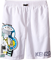 Kenzo Kids - All Over Bathing Trunk (Little Kids/Big Kids)