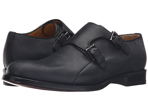 a. testoni Goodyear Constructed Bolognese Double Monk-Strap