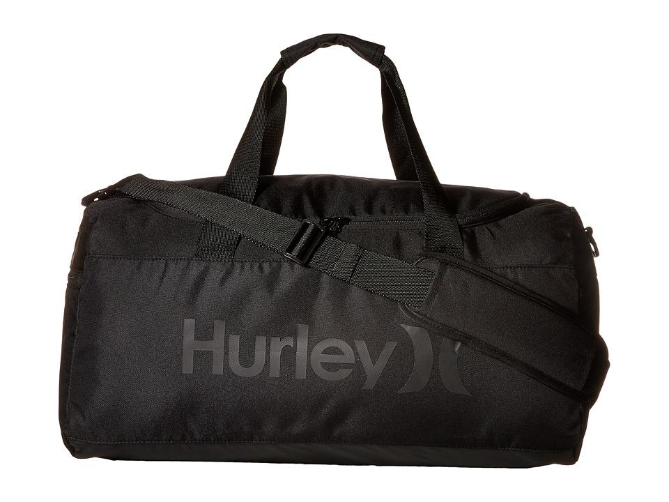 Hurley - Renegade Duffel (Black/Black) Duffel Bags