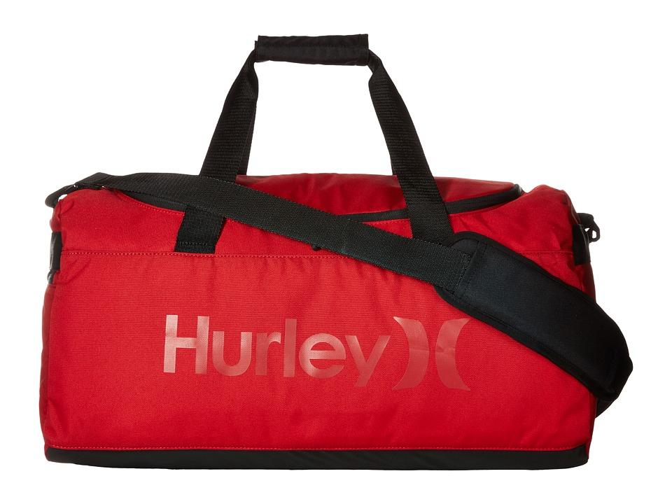Hurley - Renegade Duffel (Gym Red/Black) Duffel Bags