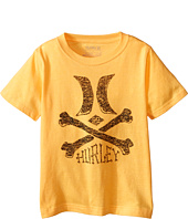 Hurley Kids - Crossed Short Sleeve Tee (Little Kids)