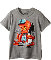 Hurley Kids - Octopus Short Sleeve Tee (Little Kids)