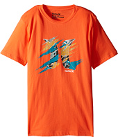 Hurley Kids - Torn Short Sleeve Tee (Big Kids)