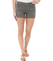 7 For All Mankind - Released Hem Shorts in Fatigue