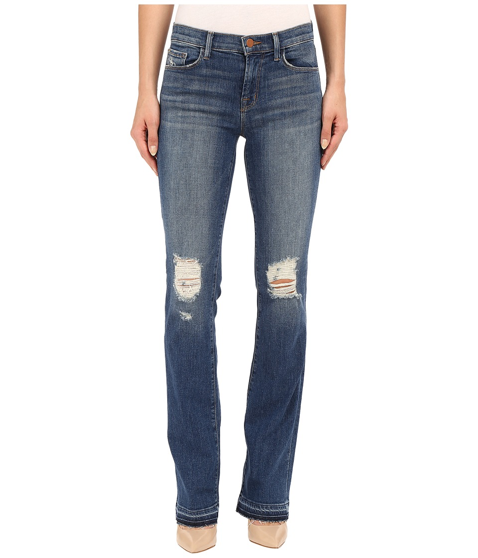 J Brand Brya Mid Rise Bootcut in Breathless Breathless Womens Jeans