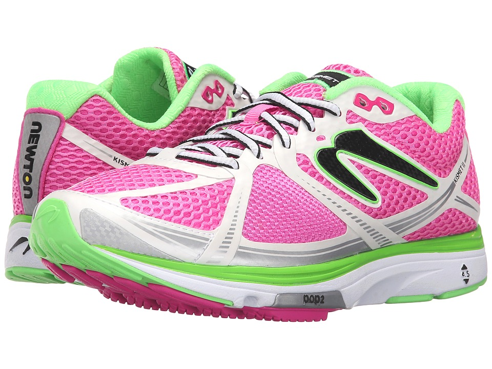 Newton Running Kismet II Pink/White Womens Running Shoes