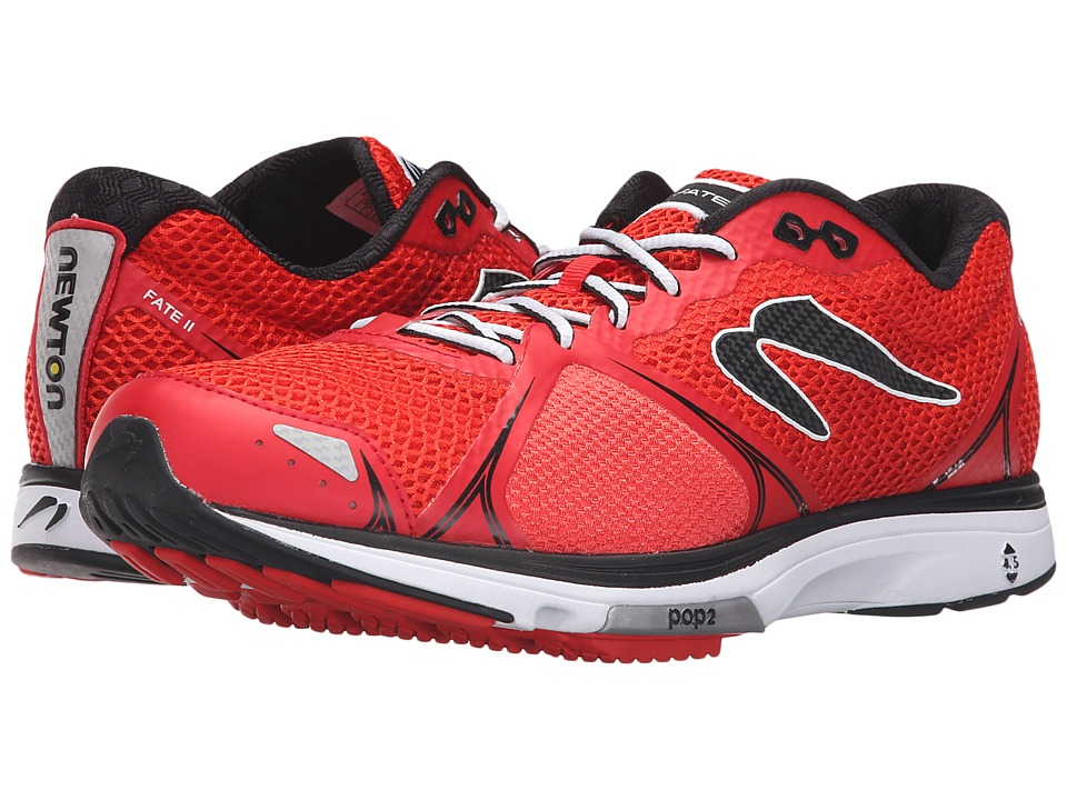 Newton Running Fate II Red/Black Mens Running Shoes