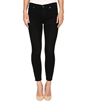 7 For All Mankind - The Ankle Skinny in Black Sands Broken Twill