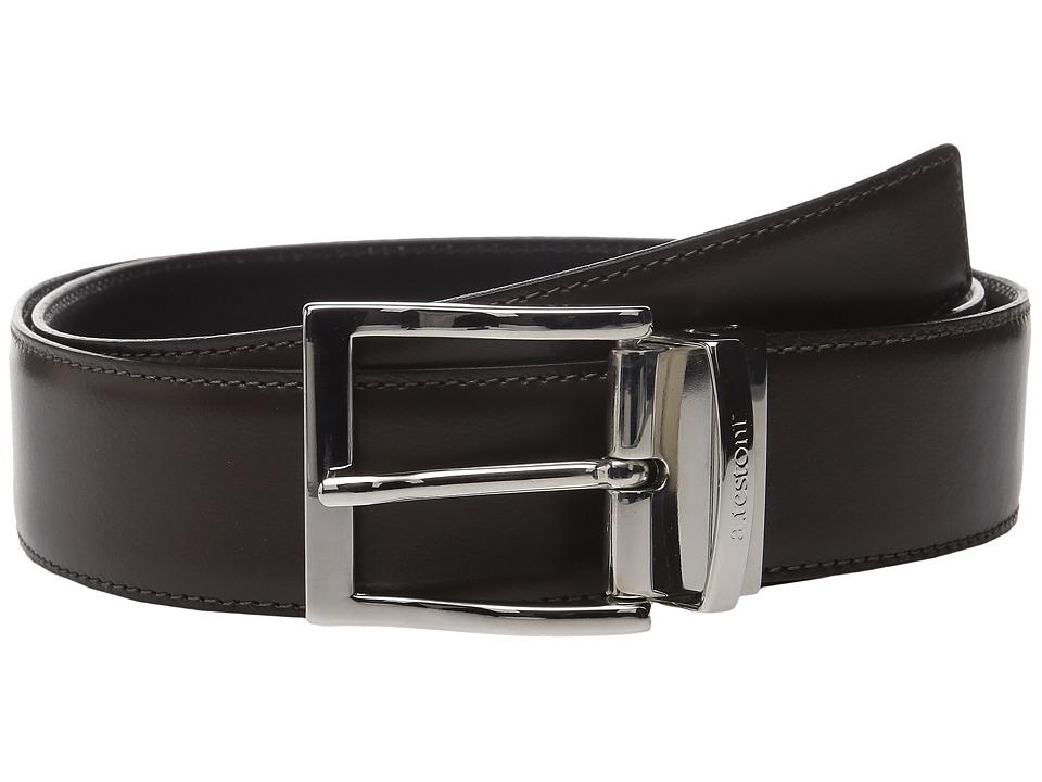 Image of a. testoni - CDR02965I (Nero/Moro) Men's Belts