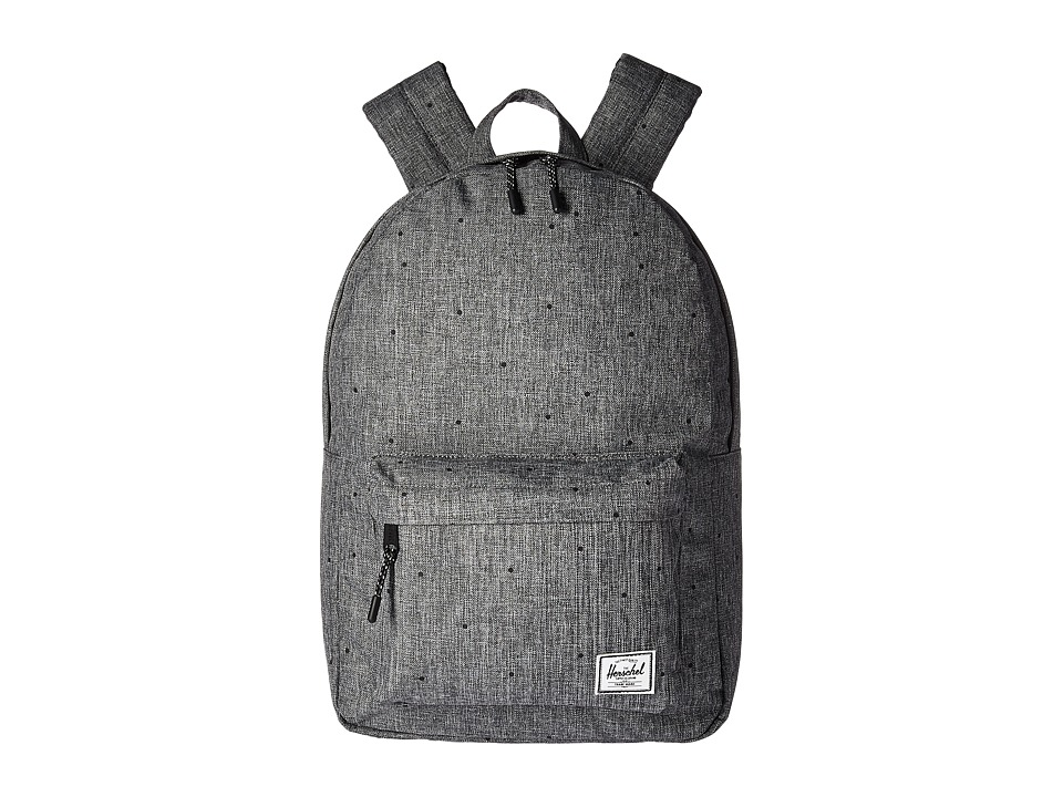 Herschel Supply Co. Classic Mid-Volume (Scattered Raven Crosshatch) Backpack Bags