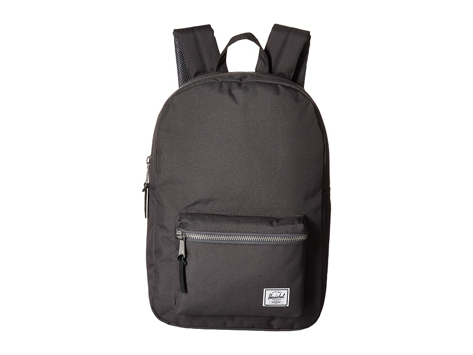 Herschel Supply Co. - Settlement Mid-Volume (Charcoal) Backpack Bags