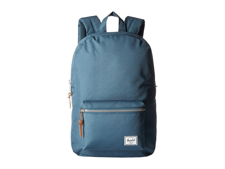 Herschel Supply Co. - Settlement Mid-Volume (Indian Teal) Backpack Bags