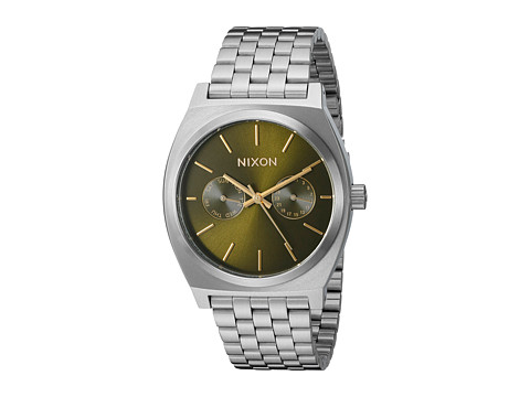 Nixon Time Teller Deluxe - Olive Sunray