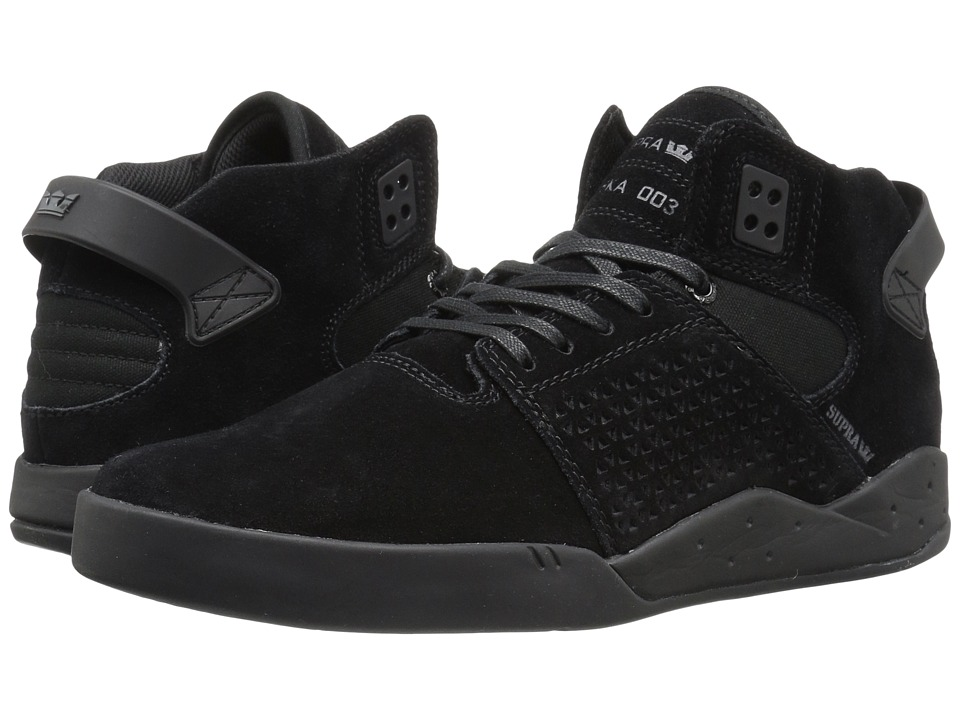 Supra Skytop III (Black Suede) Men