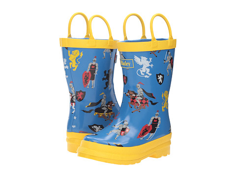 Hatley Kids Medieval knights Rain Boots (Toddler/Little Kid) - 6pm.com
