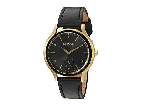 Nixon Sala Leather - Gold/Black