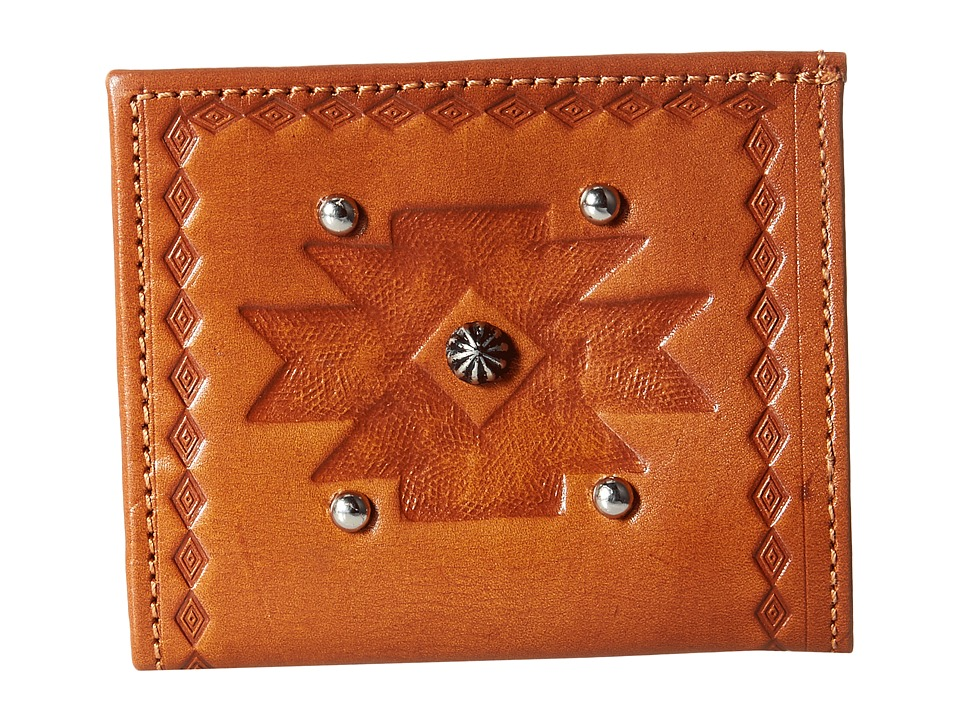 American West - Boyfriend Wallet Bifold Wallet (Golden Tan) Wallet Handbags