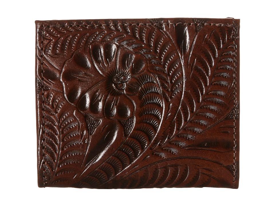 American West - Boyfriend Wallet Bifold Wallet (Chestnut Brown) Wallet Handbags