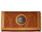 American West Dallas Flap Wallet (Tan)