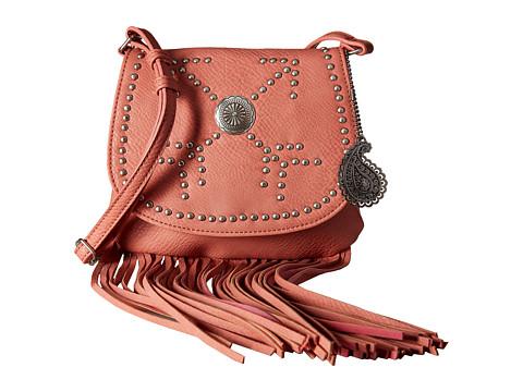American West Austin Fringe Flap Bag w/ Wallet