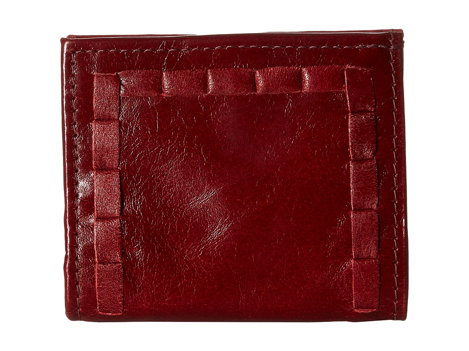 American West - Boyfriend Wallet Soft Bifold Wallet (Garnet) Wallet Handbags