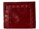 American West Boyfriend Wallet Soft Bifold Wallet (Garnet)