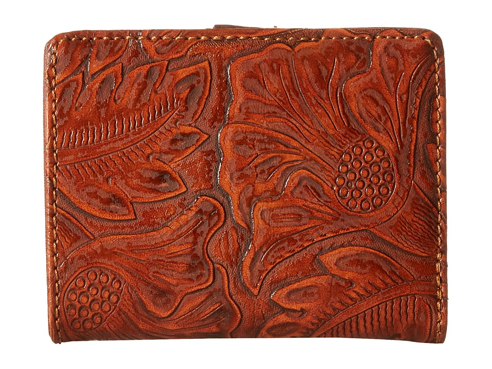 Image of American West - Amour Folded Snap Wallet (Sunset Orange) Wallet Handbags
