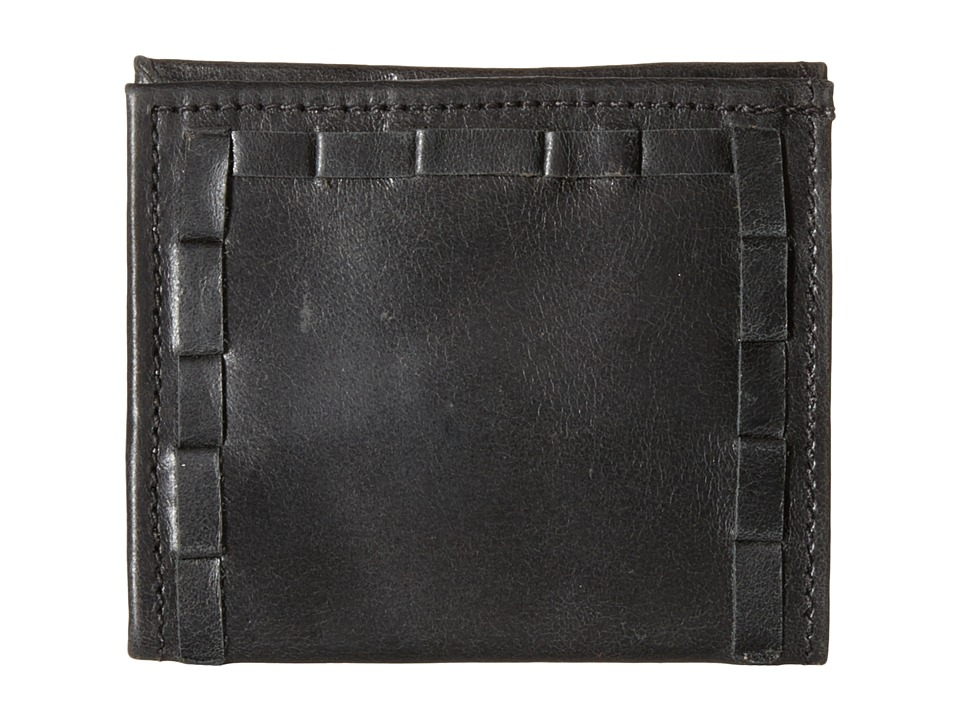 American West - Boyfriend Wallet Soft Bifold Wallet (Charcoal) Wallet Handbags