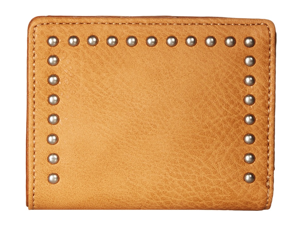 American West - Amour Folded Snap Wallet (Beige) Wallet Handbags