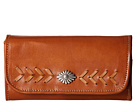 American West Mohave Canyon Trifold Wallet (Golden Tan)