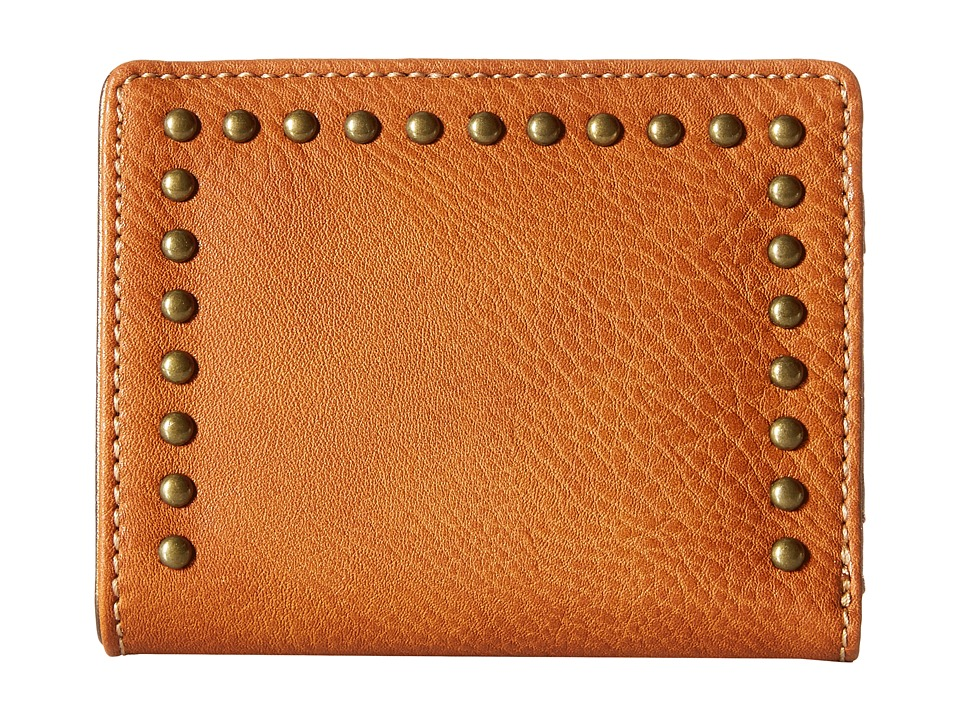 American West - Amour Folded Snap Wallet (Tan) Wallet Handbags