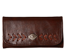 American West Mohave Canyon Trifold Wallet (Chestnut Brown)