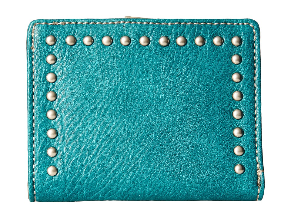 Image of American West - Amour Folded Snap Wallet (Turquoise) Wallet Handbags
