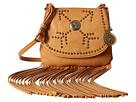 American West Austin Fringe Flap Bag w/ Wallet (Tan)