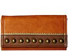 American West Oak Creek Flap Wallet (Golden Tan)