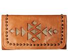 American West Azteca Trifold Wallet (Golden Tan/Sand)